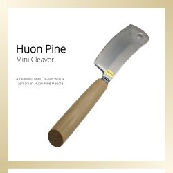 Huon Pine Mini cleaver cheese knife