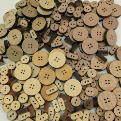 Wooden Buttons made from Tasmanian Timber